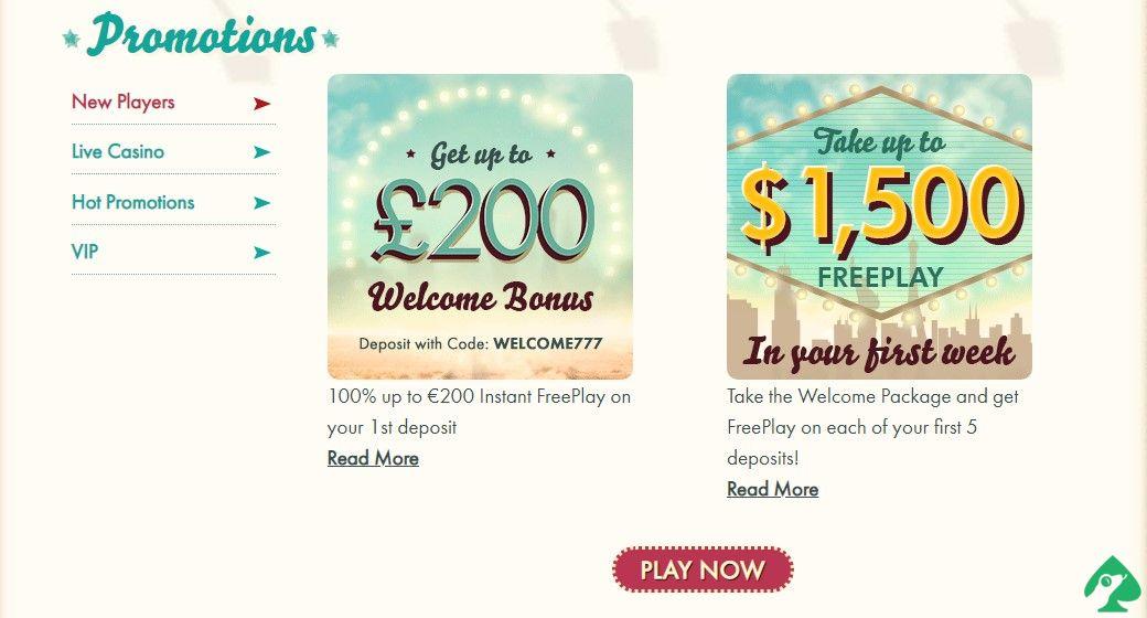 777 casino promotions
