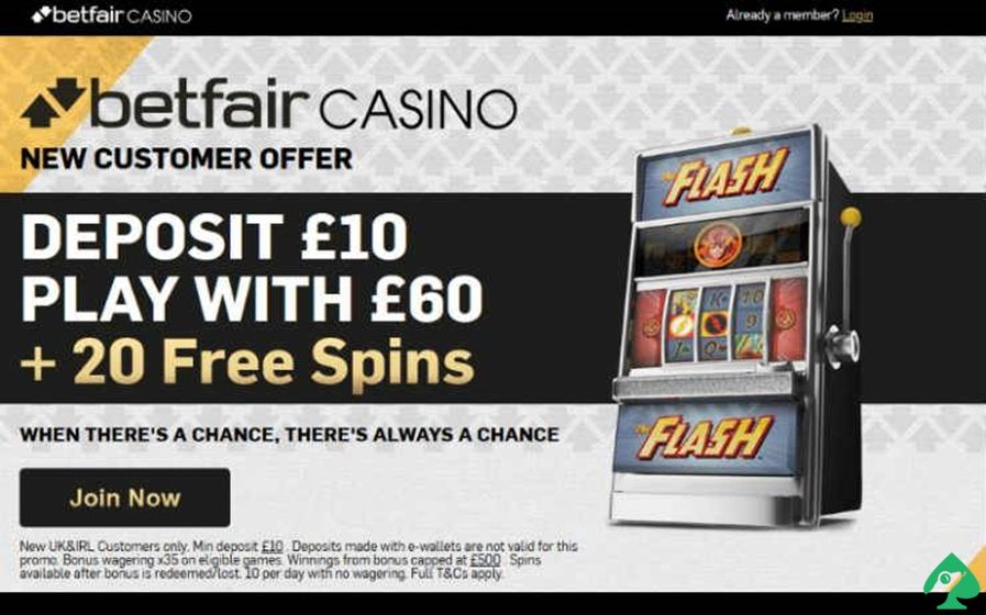 Betfair Casin Deposit and Withdrawal Policy