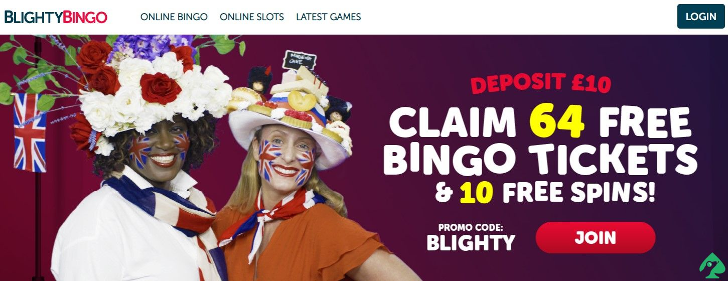 Blighty bingo bonus codes