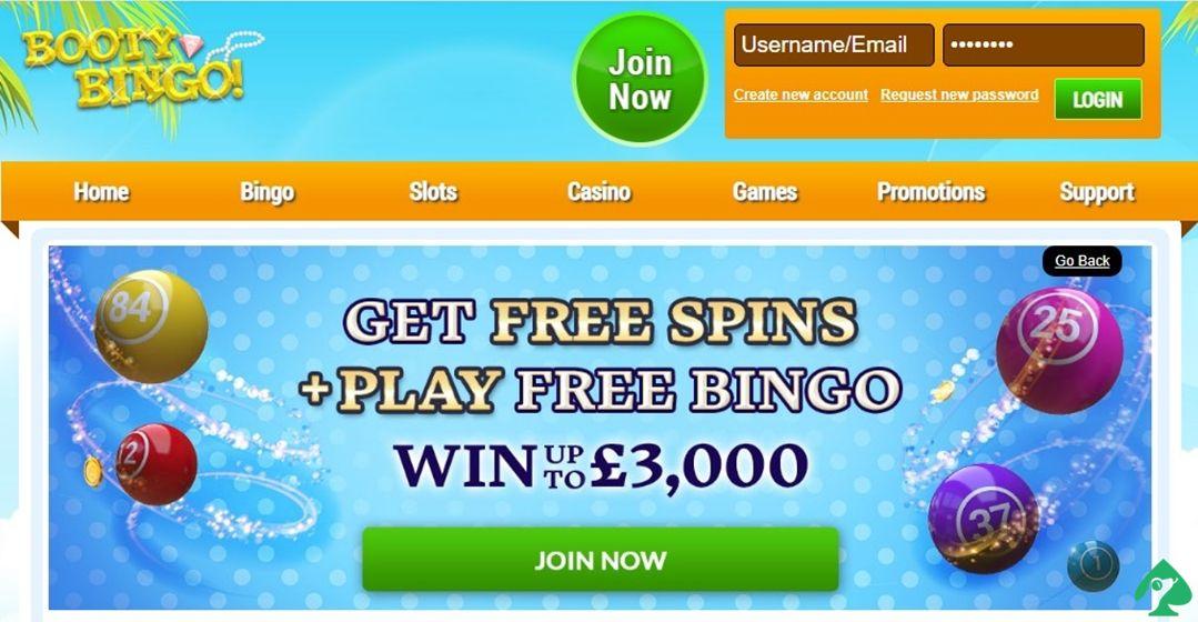 Booty Bingo free spins