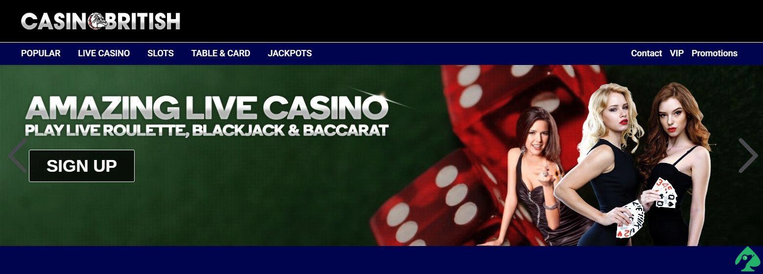 Casino British Bonuses