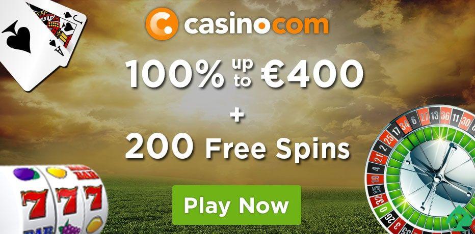 Casino.com bonus codes
