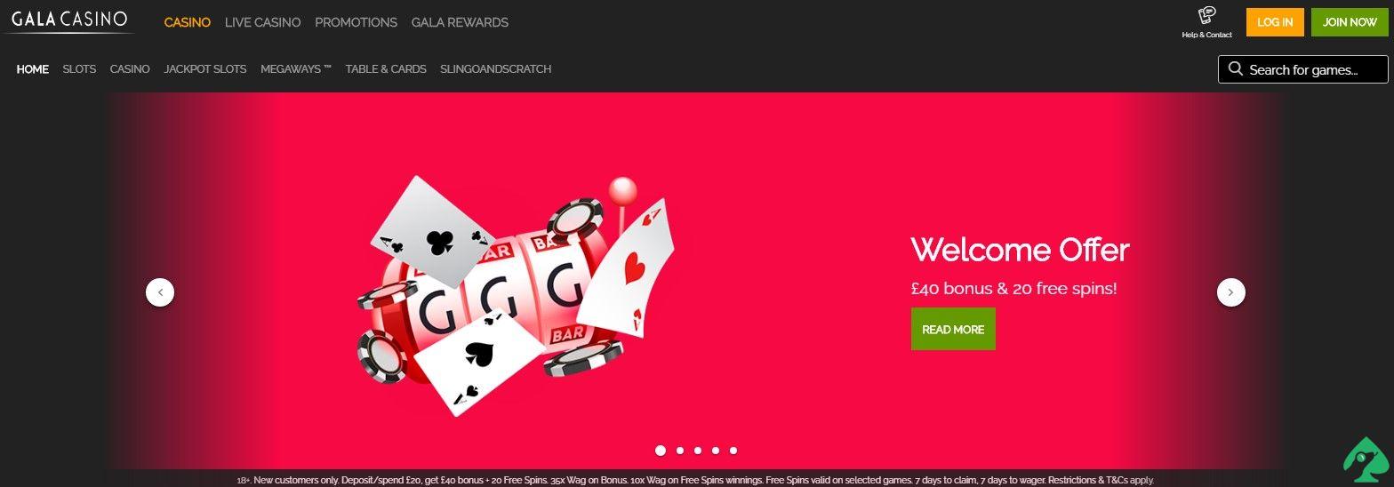 Gala Casino promo codes