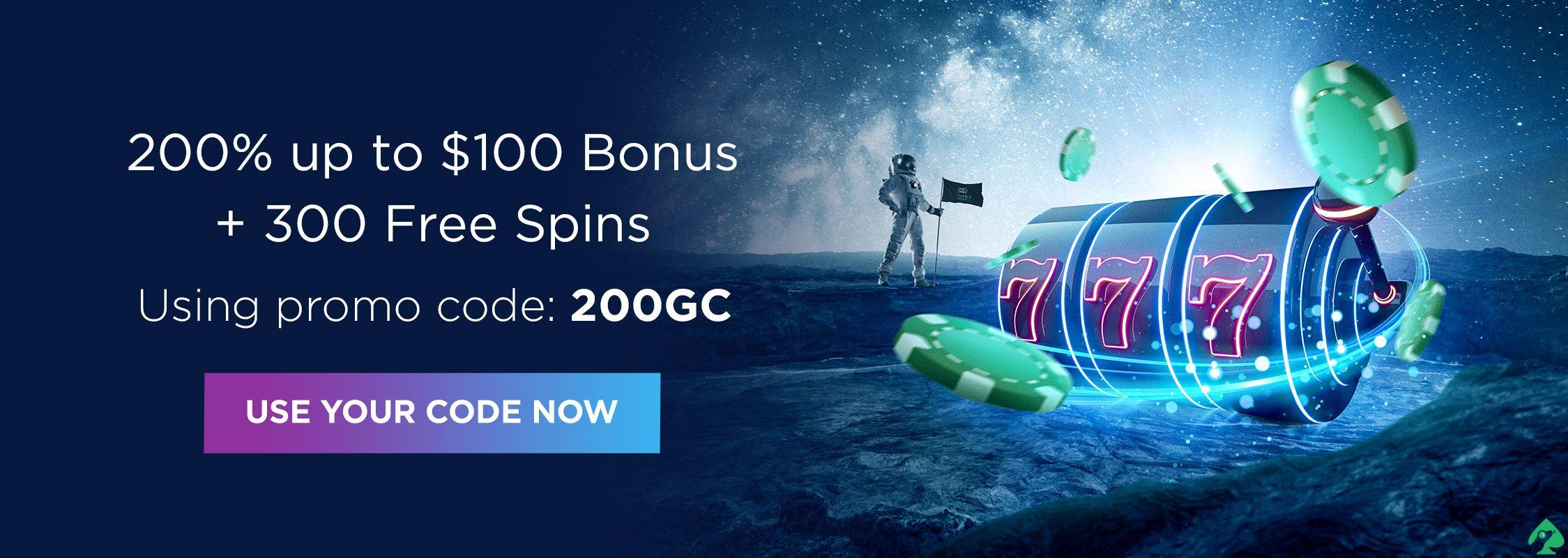 Genesis Casino promo codes