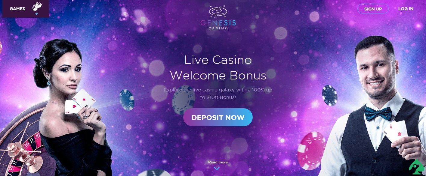 genesis casino codes for sign up bonus