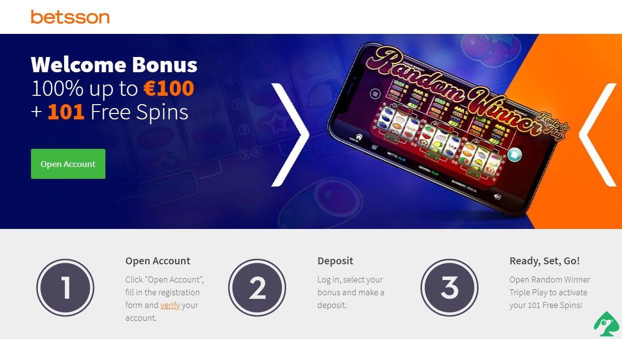 Betsson.com Casino Free Spins