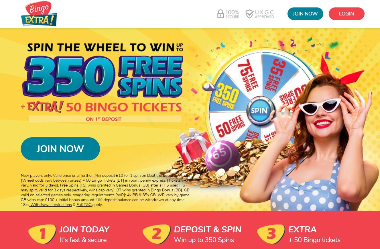 Bingo extra welcome bonus
