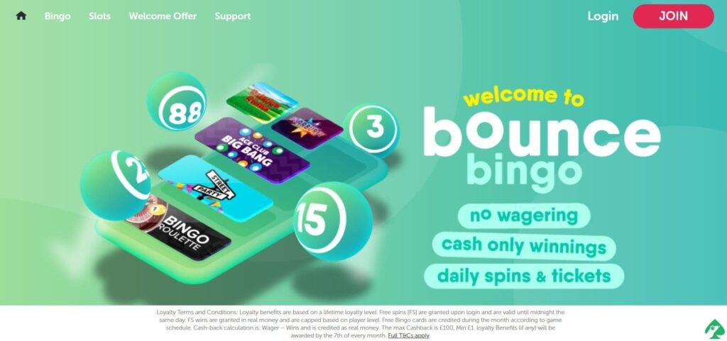 bounce bingo no deposit bonus codes