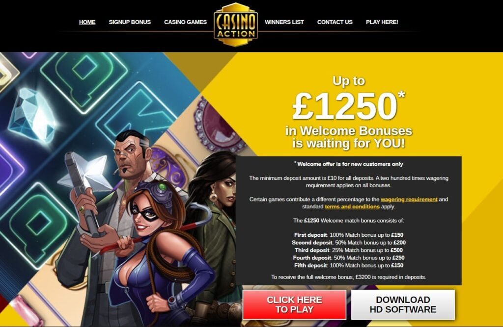 casino action promotions