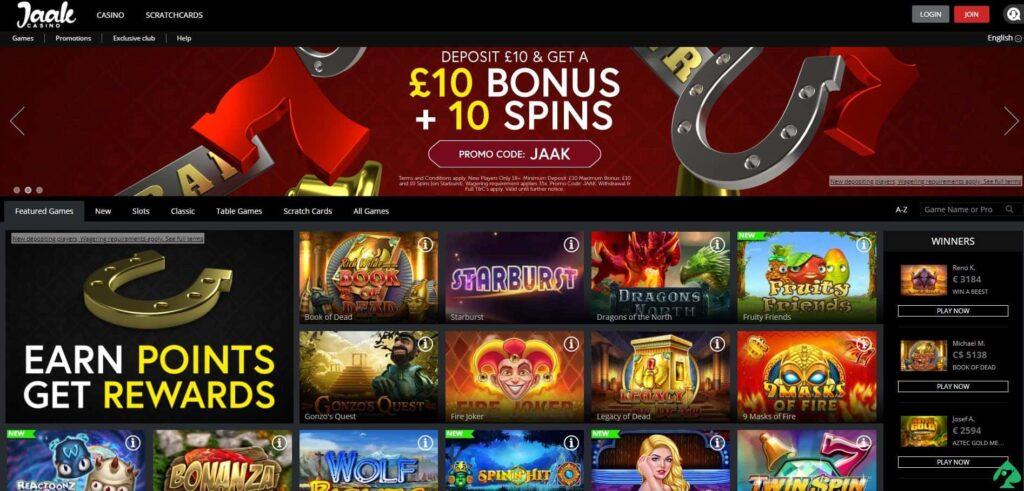 jaak casino no deposit bonus codes