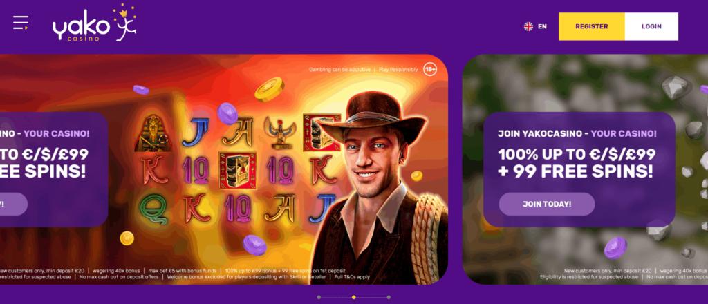 Yako Casino Bonus Codes 2021