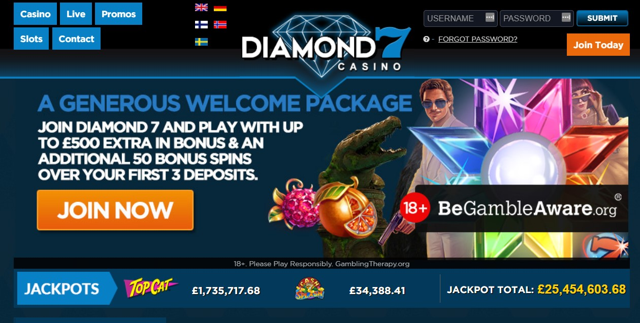 diamond 7 casino promotions