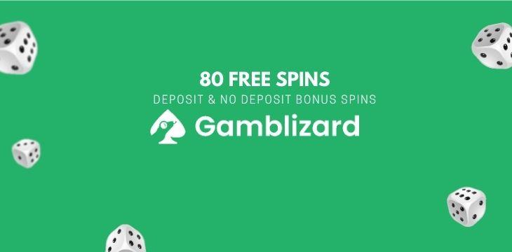 80 free spins no deposit uk
