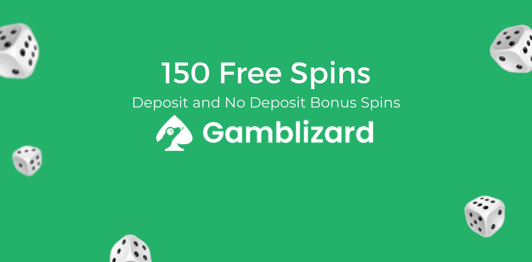 150 Free Spins Bonuses