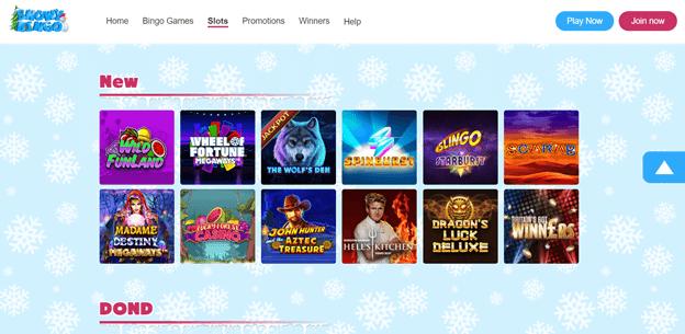 Snowy Bingo games