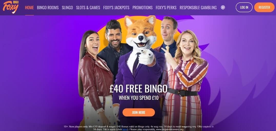 foxy bingo casino