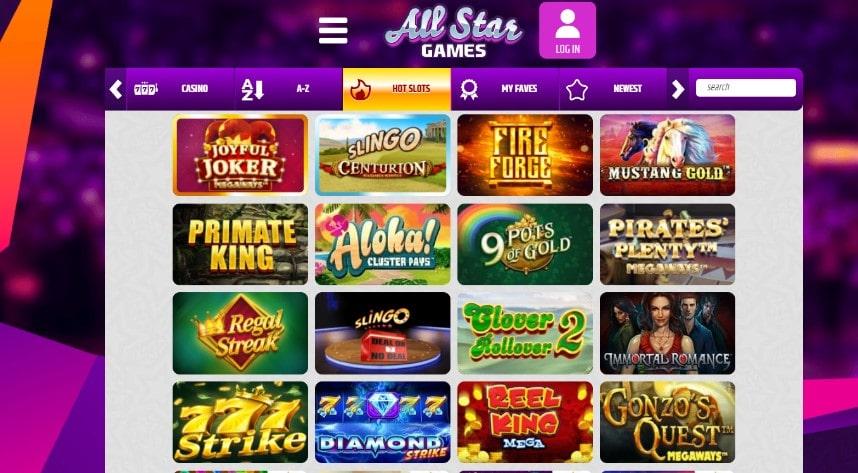 all star casino slots