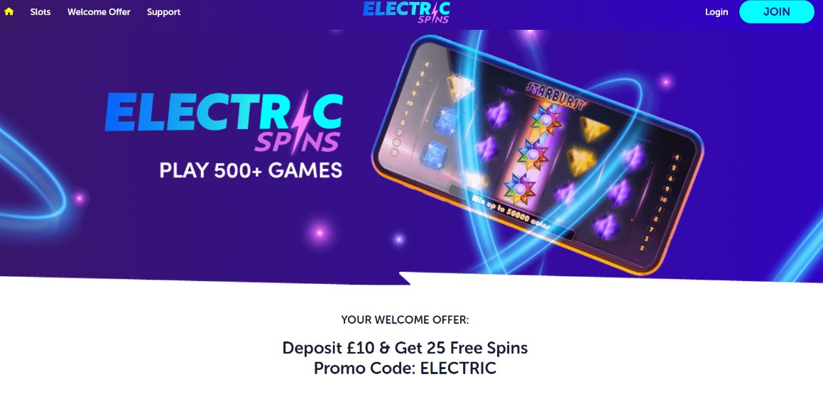 electric spins casino