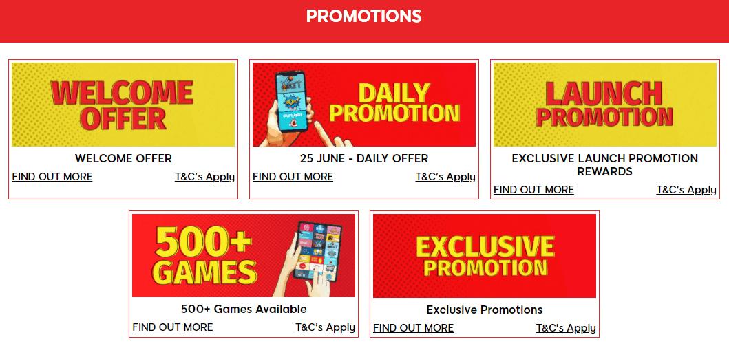 Bonnie Bingo bonuses