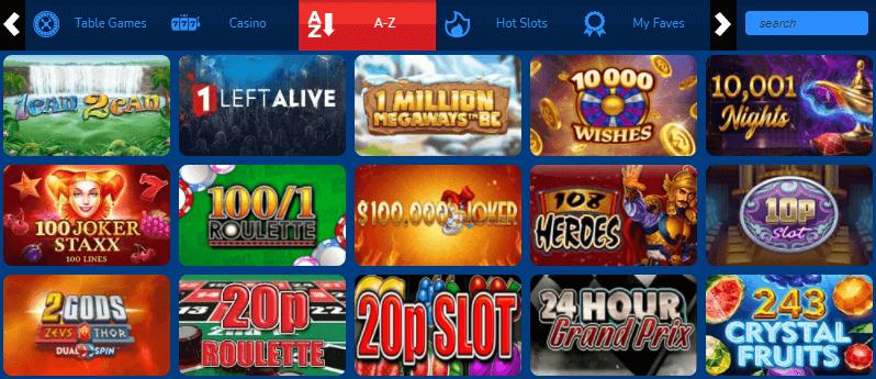 Online Slots UK games