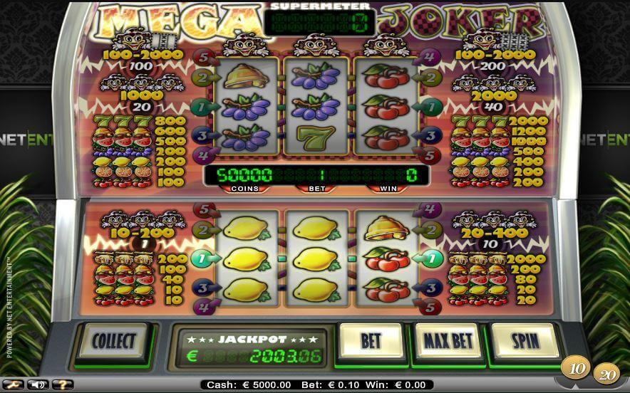 Mega Joker Slot Free Spins