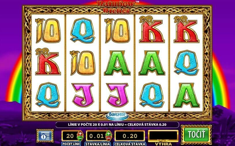 Rainbow Riches Slot Free Spins