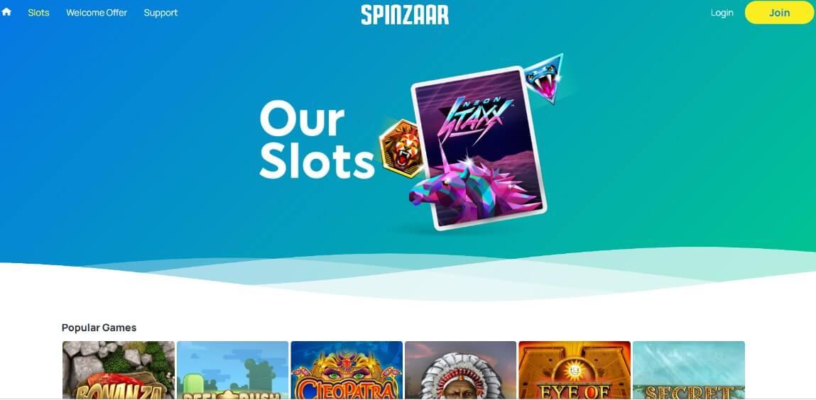 spinzaar slots