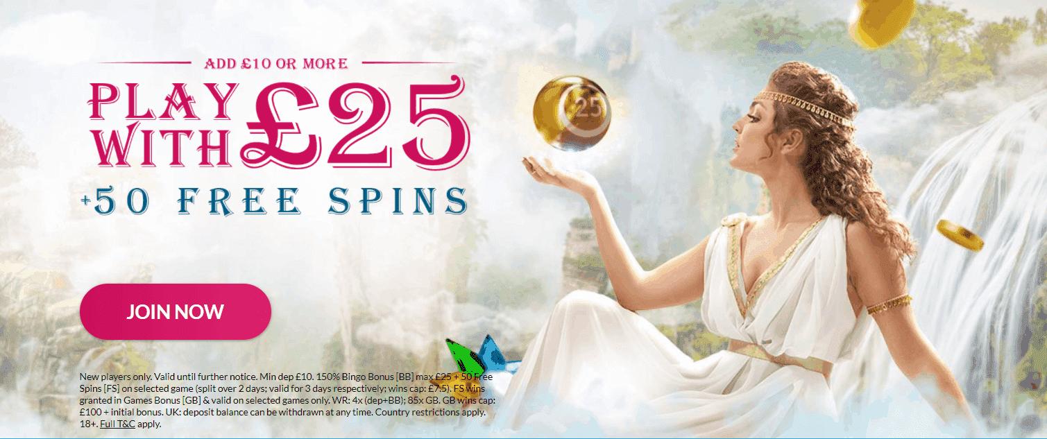 Glorious Bingo promotions