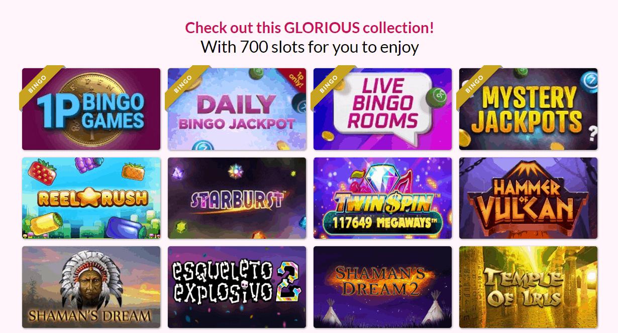 Glorious Bingo slots