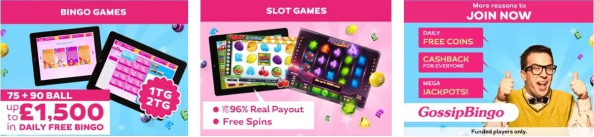 bingo gossip games
