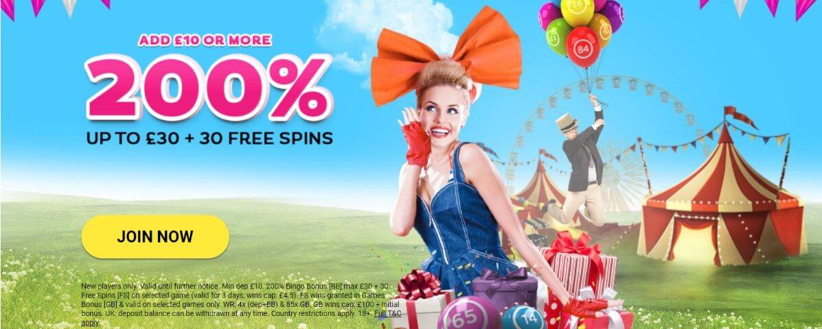 gossip bingo welcome promo