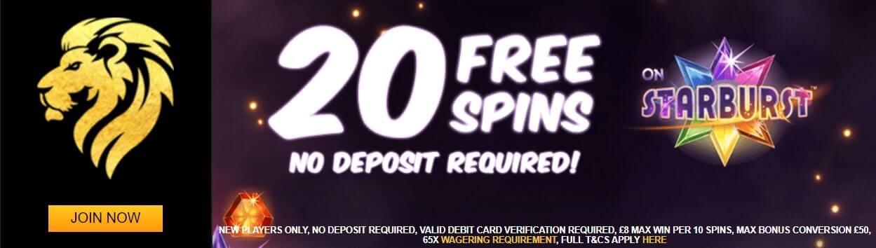 Play Leon no deposit free spins
