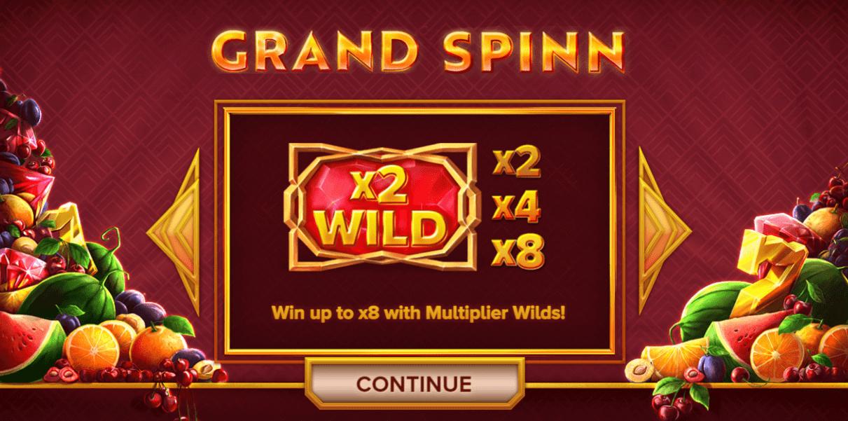 grand spinn bonus codes