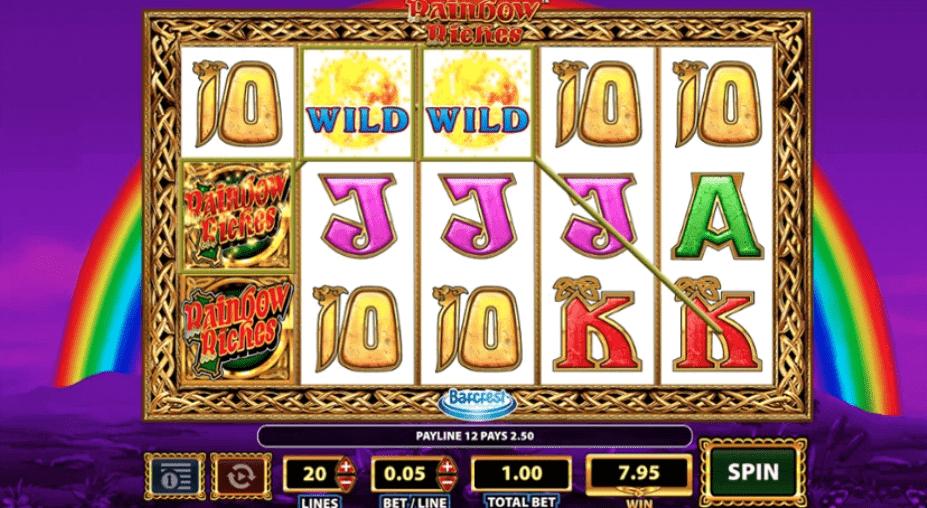 Rainbow Riches Slot bonus spins