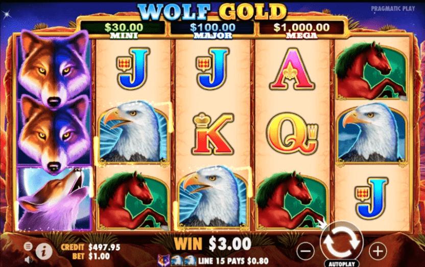 Wolf Gold no deposit bonus codes