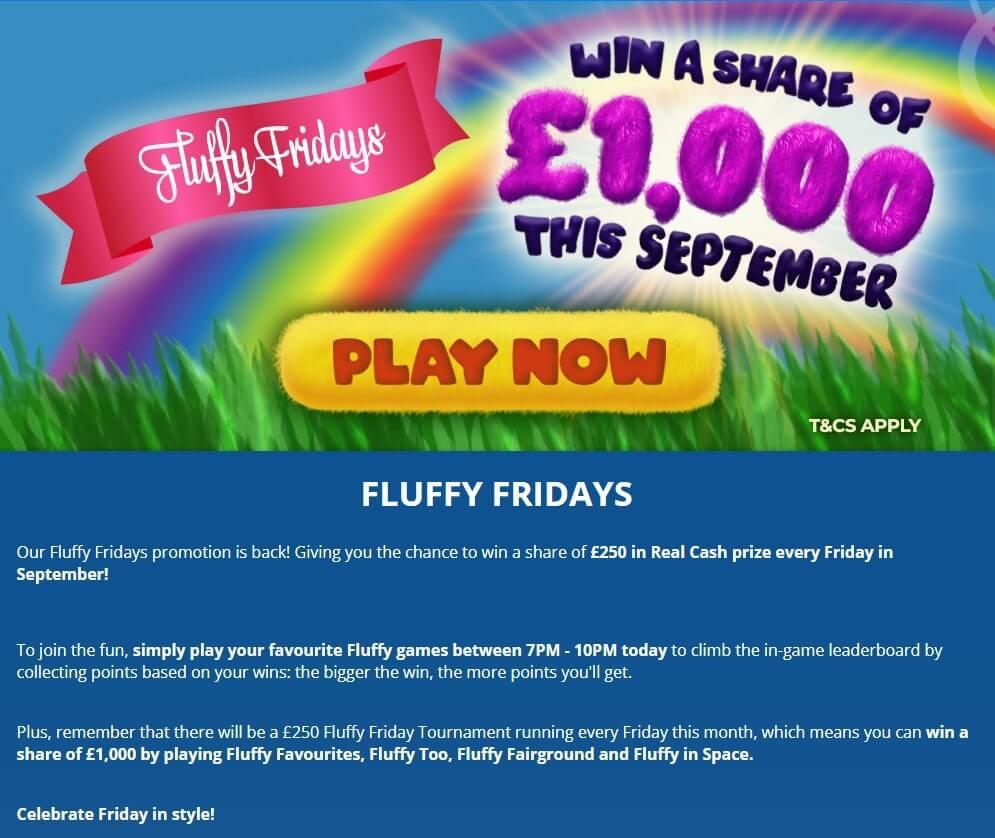 Dove Bingo Fluffy Fridays