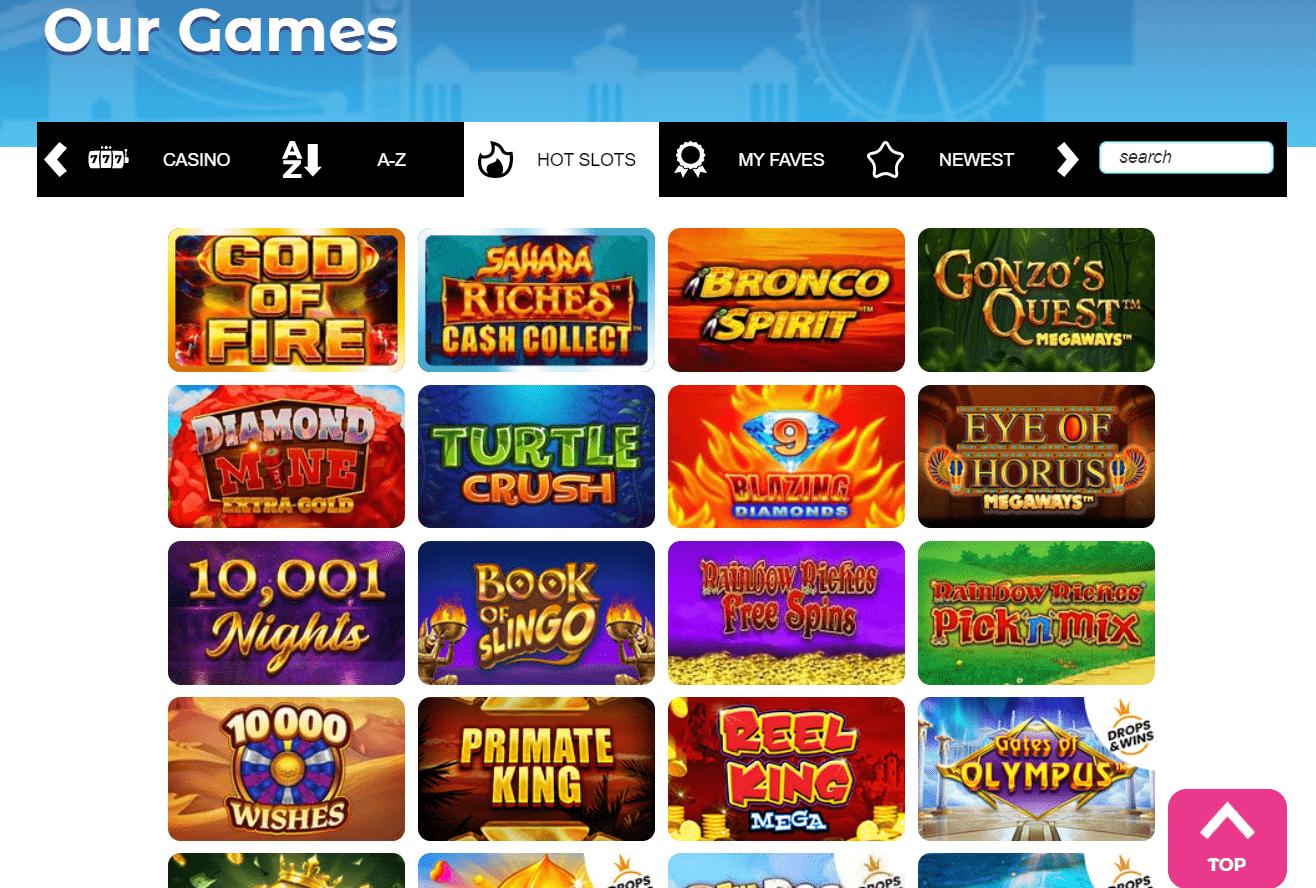 Good Day Slots Casino games
