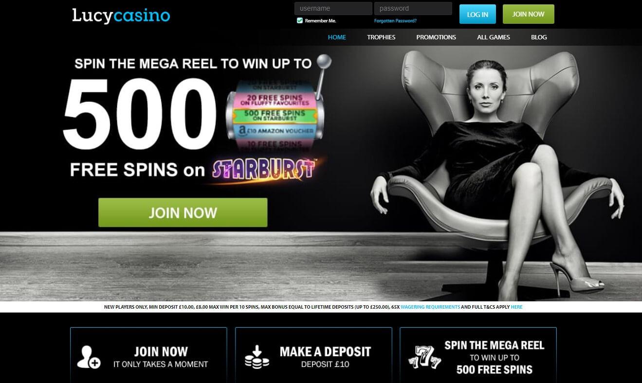 lucy casino bonus code