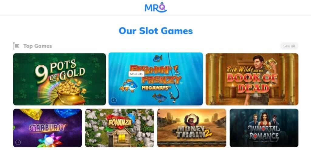 mrq casino slots games