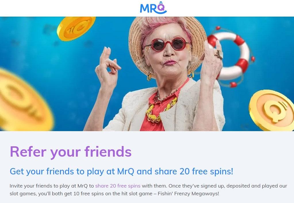 mrq casino refer a friend bonus