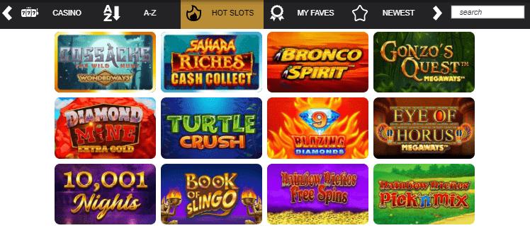 Olive Casino slots