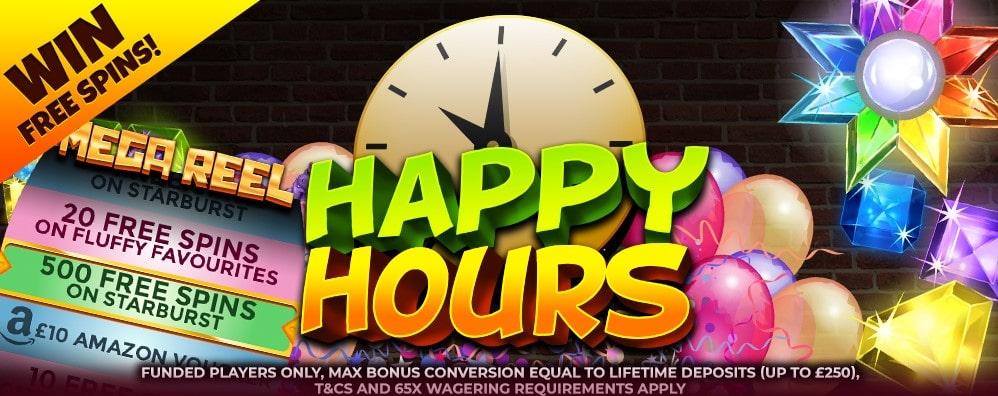 simba slots happy hours