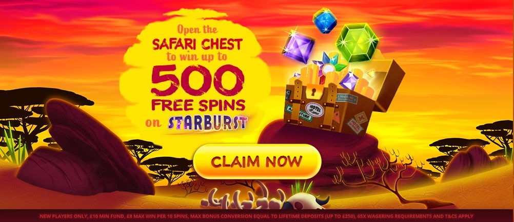 simba slots welcome offer